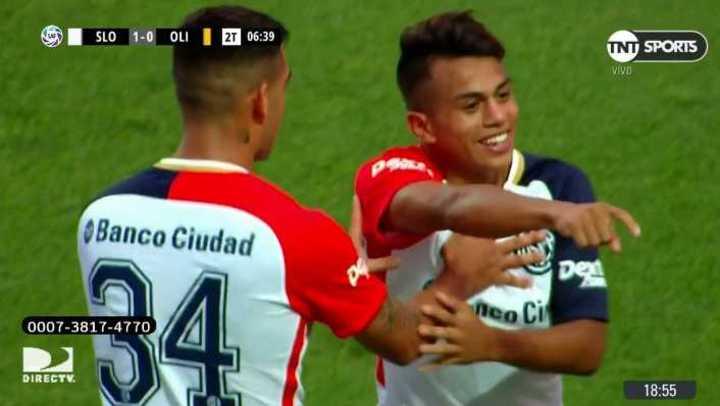 San Lorenzo 1 - Olimpo 0