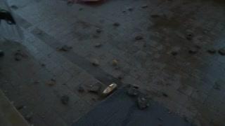 La Plata: así quedó la casa de Gobierno