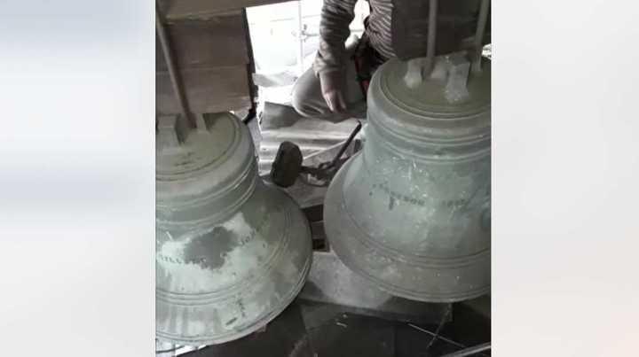 Así suenan las campanas de 1902 del reloj de la Estación Constitución