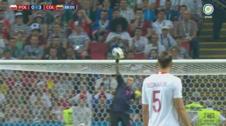 Ospina tapó una pelota impresionante - Mundial Rusia 2018