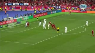 Real Madrid 1 - Liverpool 1