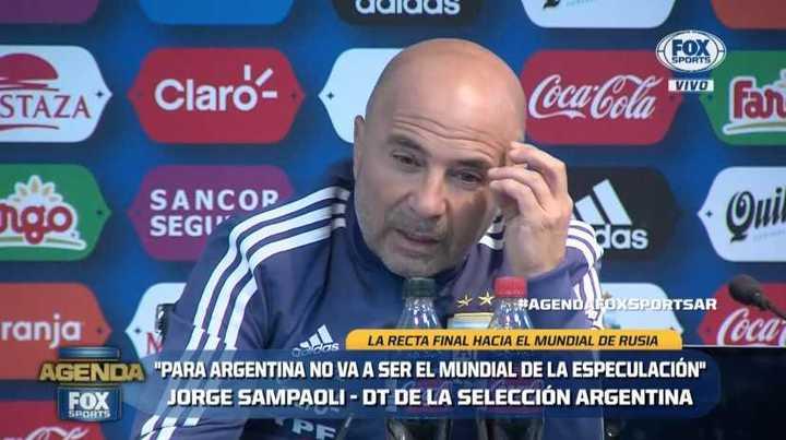 Sampaoli habló sobre la ausencia de Dybala en la convocatoria