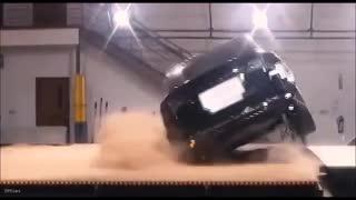 Prueba de vuelco Tesla Model X