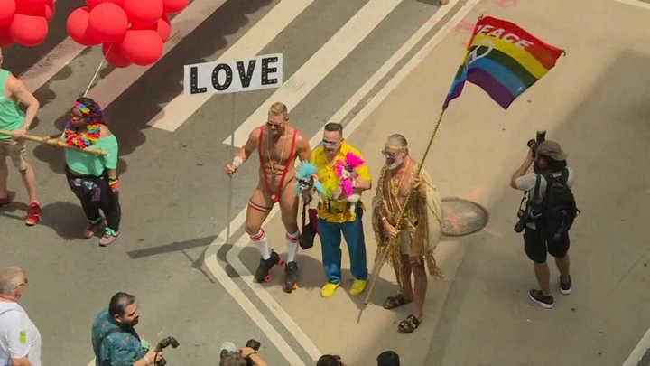 Así se celebró la 49° edición del desfile del Orgullo Gay en Nueva York