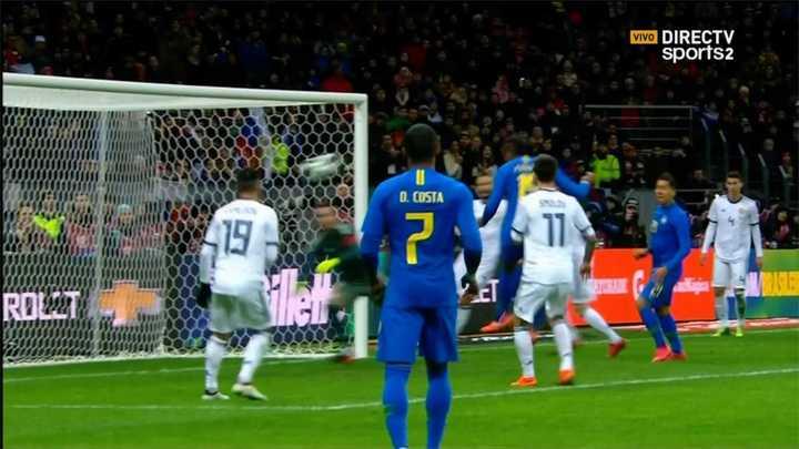 Rusia 0 - Brasil 3
