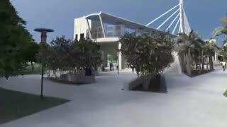 Presentación del proyecto del puente peatonal FIU Sweetwater