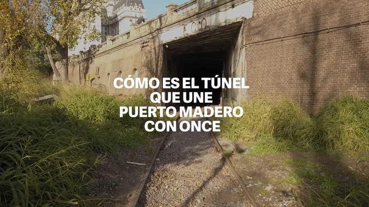 El túnel desconocido que atraviesa la Ciudad de Buenos Aires
