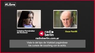 Cristina critica a la vicepresidente Michetti