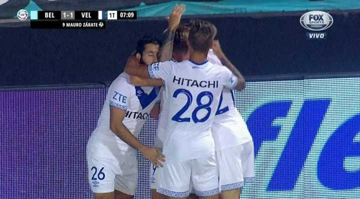 Belgrano 1 - Vélez 1