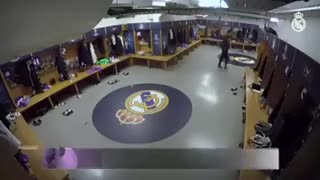 La charla de Zidane en el vestuario durante el entretiempo de la final de la Champions.