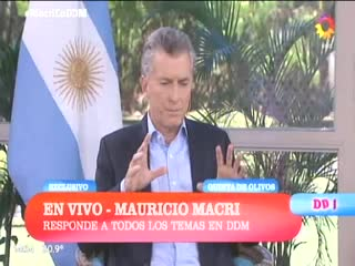 "Macri: ""Lo peor ya pasó"""