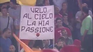 """Roma, Roma, Roma"", el himno del equipo de la capital italiana. (YOutube)"