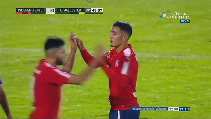 Independiente 8 - Central Ballester 0