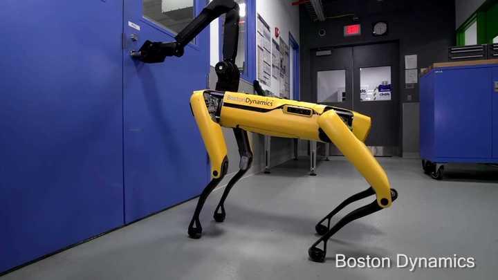 El robot de Boston Dynamics que puede abrir una puerta