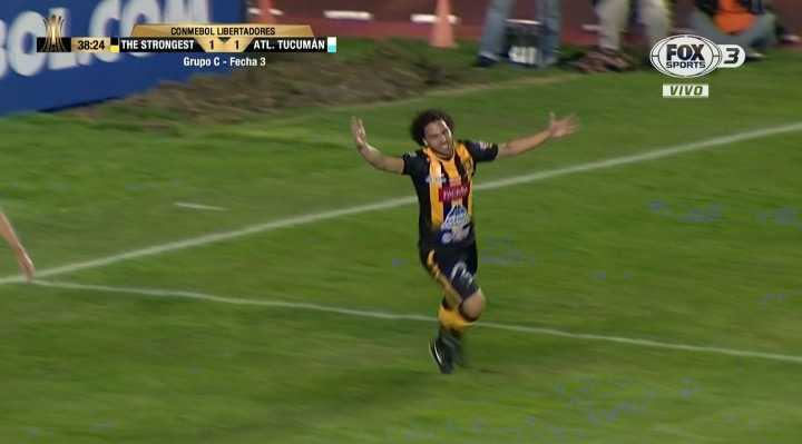 The Strongest 1 - Atlético Tucumán 1