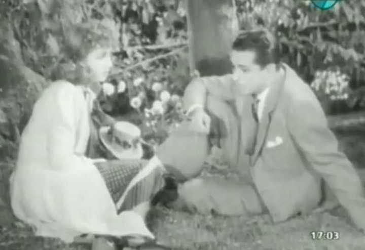 """""""Los martes, orquídeas"""", el primer protagónico de Mirtha Legrand, junto a Juan Carlos Thorry."""