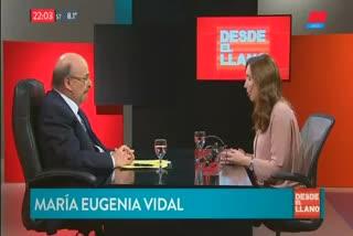María Eugenia Vidal en Todo Noticias