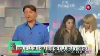 Claudia Villafañe denuncia a Diego Maradona