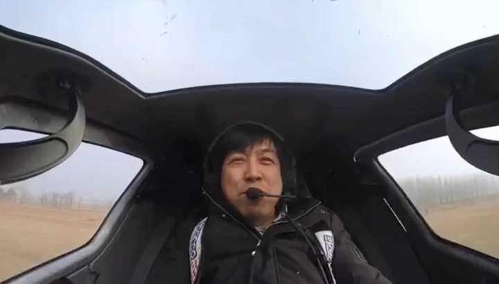 El dron tripulado de Ehang