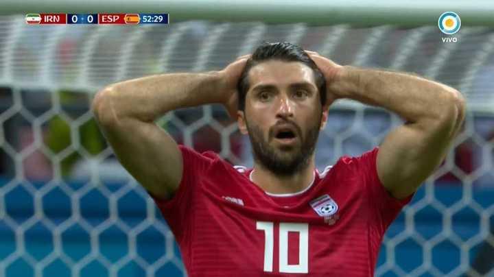 Ansarifard cerca del primero - Mundial Rusia 2018