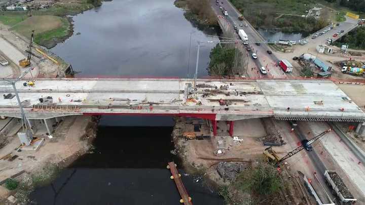 Puente Lacarra un nuevo cruce sobre el Riachuelo que une la zona sur de la Ciudad con Lanús