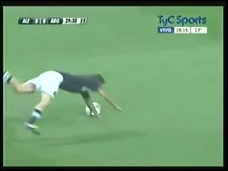 El penal fallado por Lionel Messi ante Alemania en agosto de 2012.