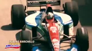 El accidente de Rubens Barrichello en Imola, en 1994. (YouTube)