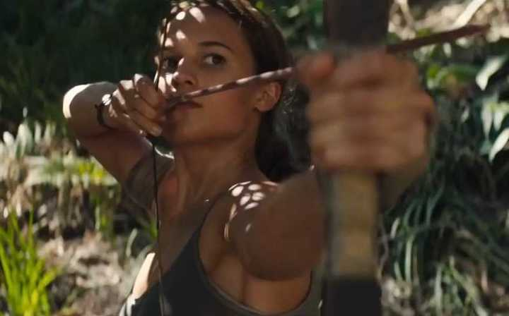 "Trailer de ""Tomb Raider"""