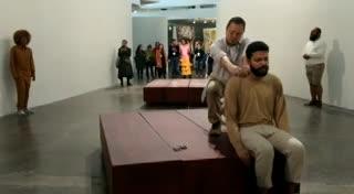 Performance en la Bienal de San Pablo