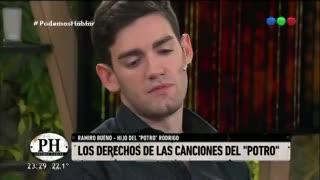 Ramiro Bueno y la pelea por los derechos de las canciones de Rodrigo