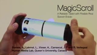 MagicScroll, una tablet que se enrolla