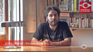 Roque Larraquy: el escritor argentino candidato al Premio Nacional de Estados Unidos