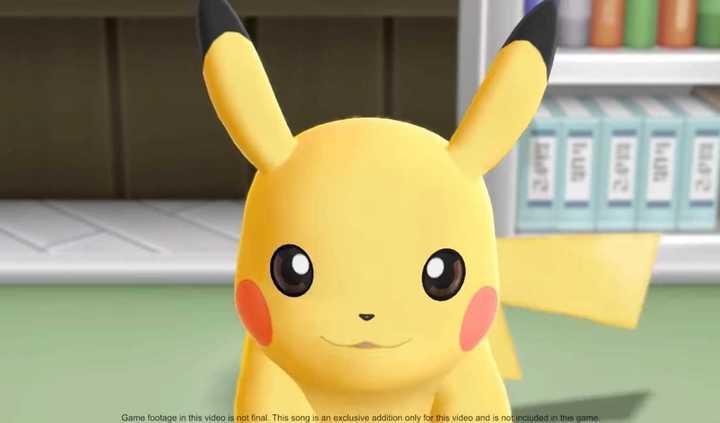 Presentación de Pokémon: Let's Go con la canción de Pokémon