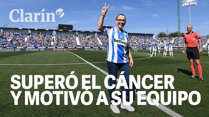 """""""Si el Lega puede, yo puedo"""": la conmovedora historia de la fanática del Leganés que superó al cáncer y motivó a su equipo"""