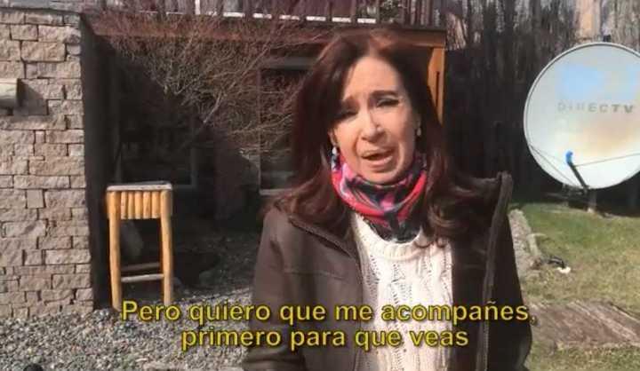 "Cristina Kirchner acusó a Bonadio de ""tomar"" su casa de Calafate"