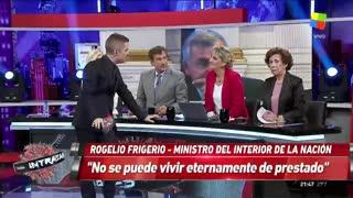 Rogelio Frigerio en Intratables