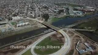 Abrió al tránsito el nuevo puente para cruzar el Riachuelo