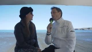 Eleonora Wexler habló a solas con Clarín en Puerto Madryn.