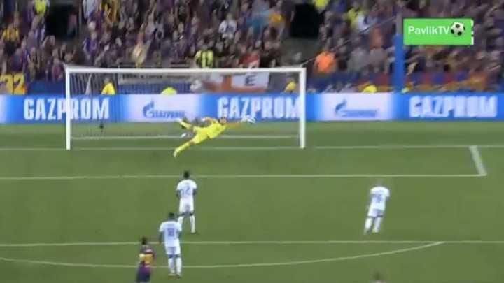 Ousmane Dembélé marcó el segundo del Barcelona