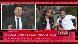 Nicolás Cabré y su romance con Laurita Fernández