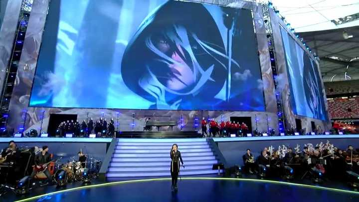 La ceremonia de cierre del Mundial de League of Legends 2017