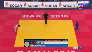 Paula Pareto, al podio en el Mundial de Baku