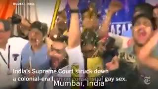 India celebra el triunfo de los derechos de los gays