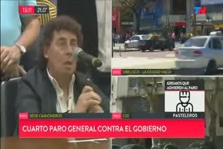 """Pablo MIcheli reversionó su frase polémica: """"O cambia el plan económico o dejan el gobierno el año que viene en las elecciones"""""""