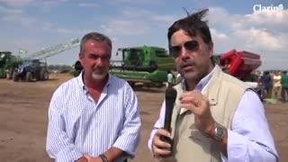 Entrevista a Edgar Ramírez, coordinador de maquinaria a campo de Expoagro.
