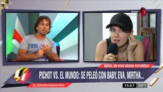 Maju Lozano le cortó un móvil a Malena Pichot