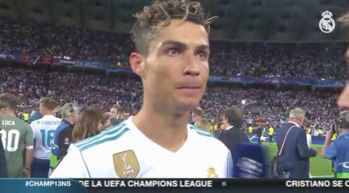 Cristiano se va del Real Madrid ?
