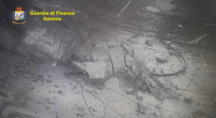 El nuevo y tremendo video de la caída del Puente de Génova
