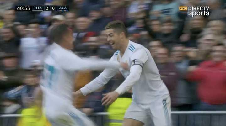 Real Madrid 3 - Alavés 0