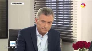 Mauricio Macri con Jorge Lanata 2 (eltrece)